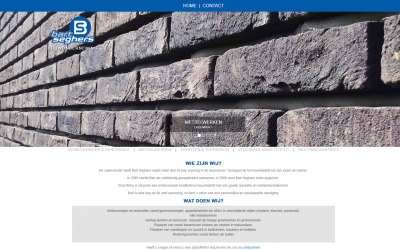Website Bart Seghers